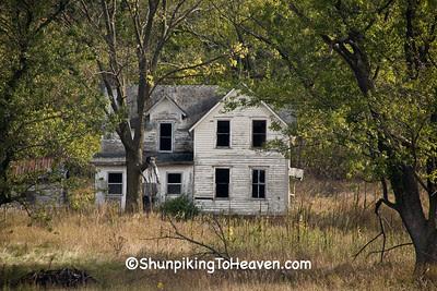 Abandoned House, Houston County, Minnesota