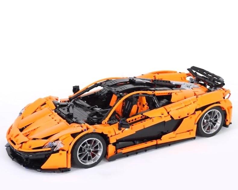 Achat Unitésenstock Lepin 20087 Technique Jouets La MOC 16915 Orange