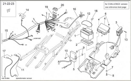 Aprilium Af1 125 Wiring Diagram