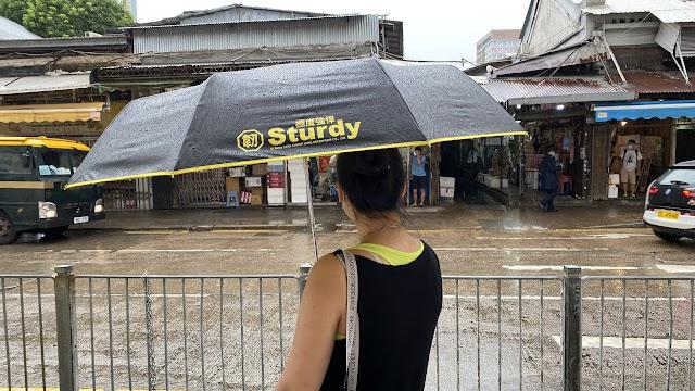 【Nendaz 極度強悍】Sturdy 超大降溫全自動雨傘 消費券網購推介