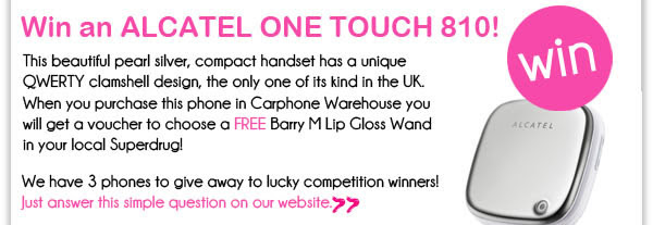 Win an Alcatel One Touch 810!