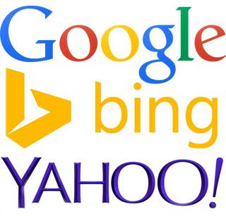 Google Yahoo Bing image