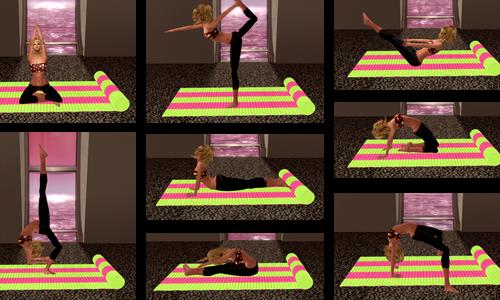 Mannequin. Yoga Mat