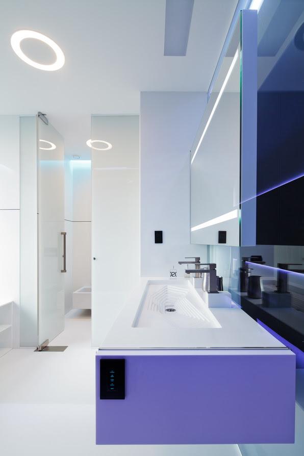 White bathroom scheme