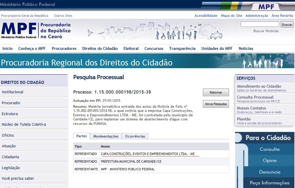 Empresa contratada para construir escola em Santa Rita é investigada pelo MPF no Ceará
