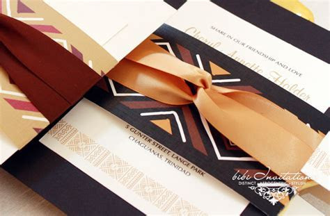 African Inspired Wedding Invitations   Bellafricana Digest