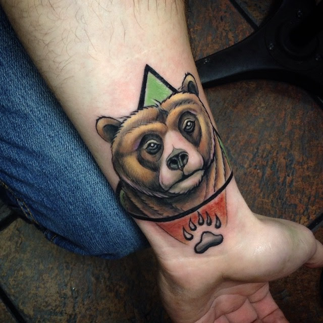 85 Rough Bear Tattoo Designs Meanings Feel The Wild Nature 2018