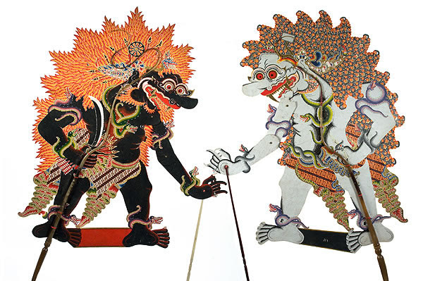 Museum Of International Folk Art Dancing Shadows Wayang Purwa Repertoire And The Cast Of Characters