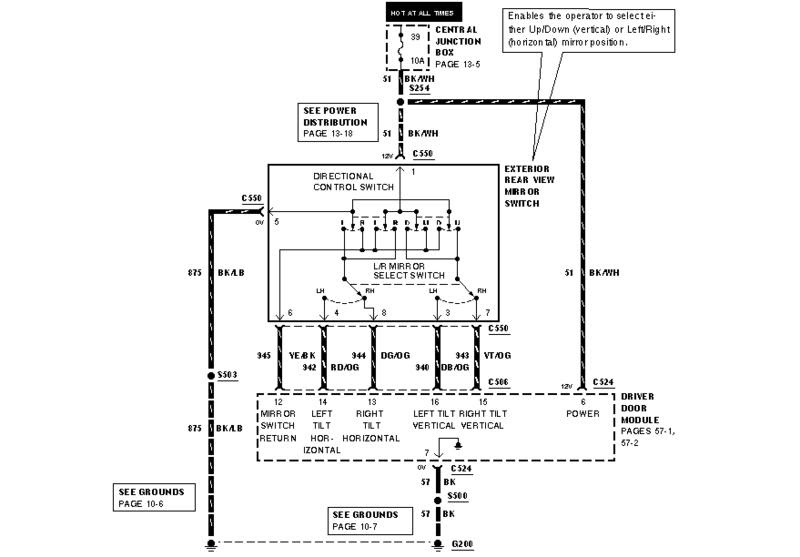 Ford Dimmer Switch Wire Diagram