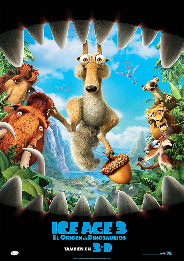 Ice Age 3: El origen de los dinosaurios (Carlos Saldanha, Mike Thurmeier, 2.009)