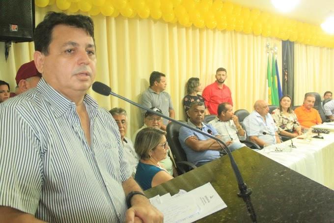 """Ex-prefeito Maurício Caetano: """"A partir de agora é um novo tempo, é uma nova História"""""""
