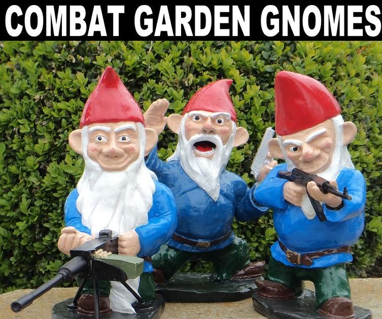 Gnome Garden: When My Brain Leaks, The Drops Drip Here.: Combat Garden