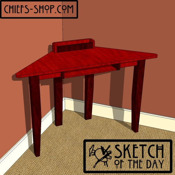 Corner Desk Plans Woodworking Free Easy Small Woodworking Projects