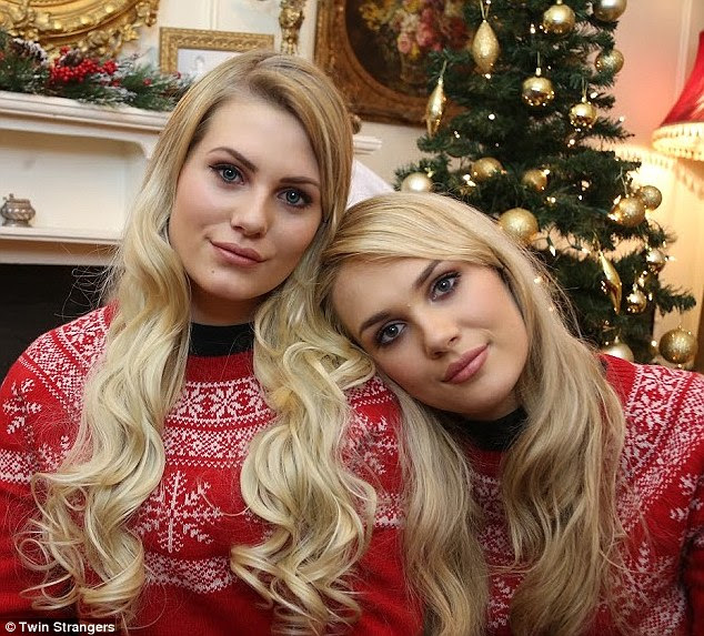Shannon Lonergan,  from County Kerry, Ireland, discovered her doppelganger online on the website Twin Strangers after being contacted by Sara Nordstrom, from Sweden and the pair met in Dublin