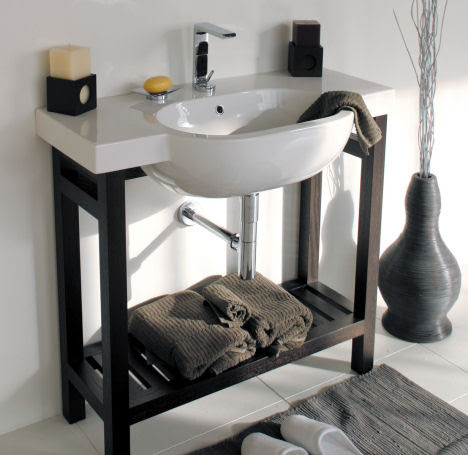 New Console Vanity from Lacava - a stylish addition for your bathroom