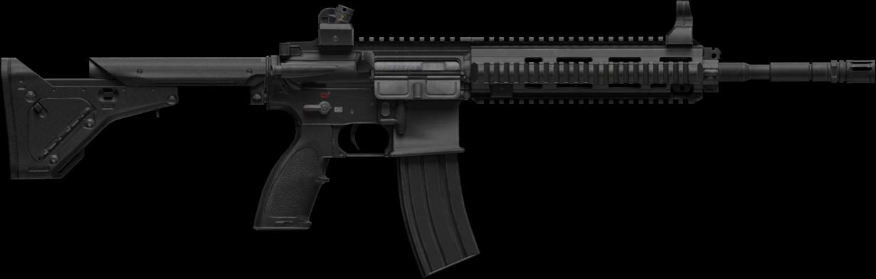Transparent pubg guns png