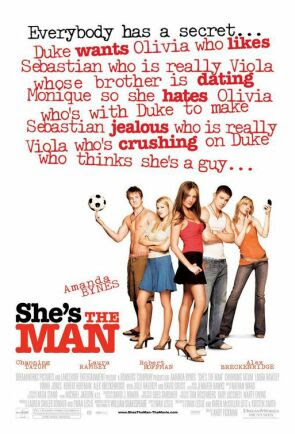 She's the Man | Tacky Harper's Cryptic Clues