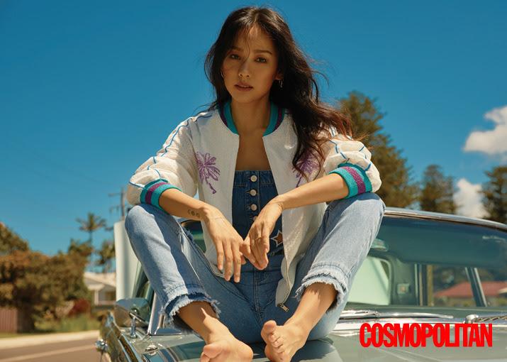 Lee Hyo Ri - Cosmopolitan Magazine March Issue '17