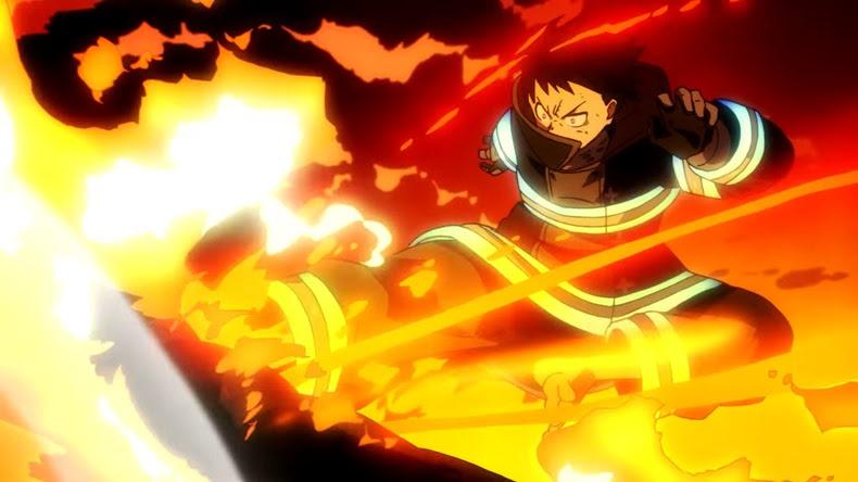 TVアニメ『炎炎ノ消防隊』第一弾ティザーPV 02