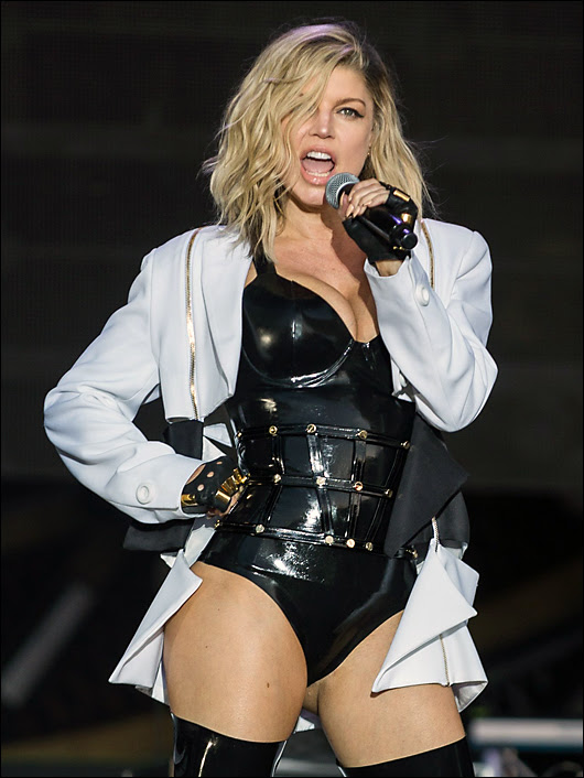 fergie hot at rock in rio
