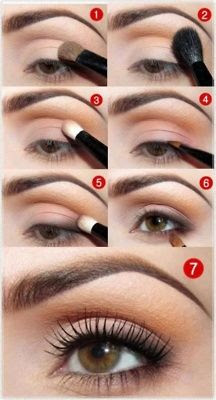 #Brown #eye #makeup #tutorial #stebystep ! For more #beauty #diy, MYBeautyCompare Pinterest #bbloggers #eyes #eyeshadow #smokey #light #natural #glam #simple #easy #101 #beginner