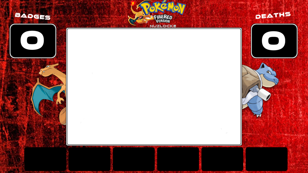 Pokemon Fire Red Nuzlocke Layout by superslayer649 on