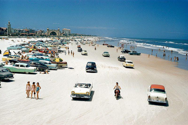 Daytona                                                            Beach 1957