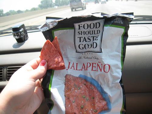Food Should Taste Good jalapeno chips