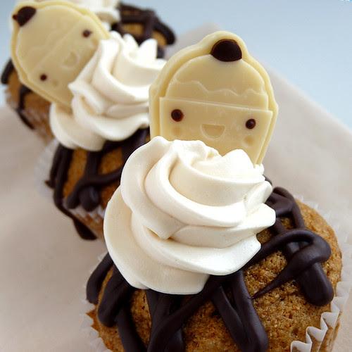 Root Beer Float Cupcakes- My Sweet Vegan
