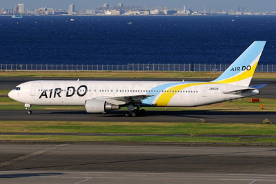 Air Do Boeing 767-381 JA601A (msn 27943) HND (Akira Uekawa). Image: 913317.