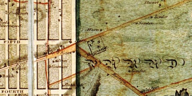 1807 Samler Farm Map