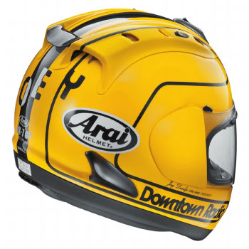 Joey Dunlop 1985 limited edition Arai RX7-GP helmet