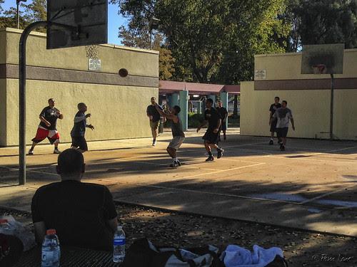 Furman Park basketball