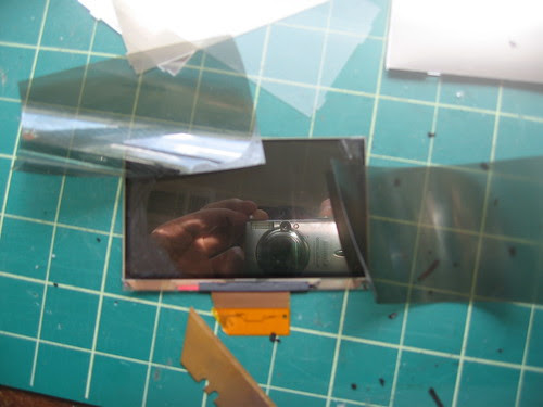 LCD Disassembly - 6 - Polarizer sheets