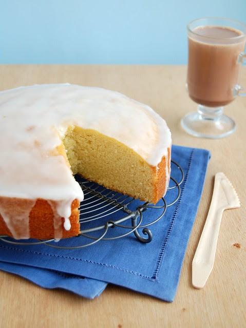 Butter cake / Bolo amanteigado com cara de bolo de avó