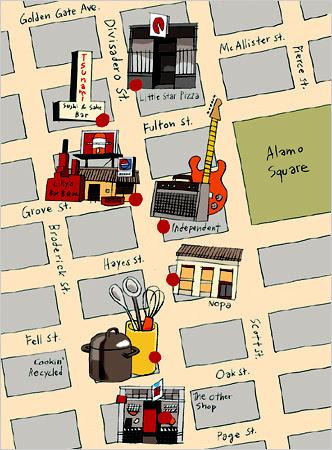 NOPA map, San Francisco