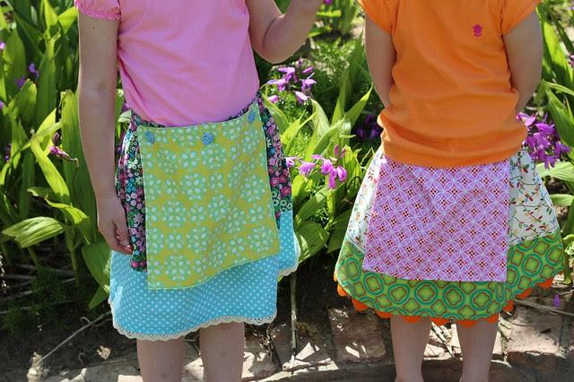 Reversible Apron Skirts