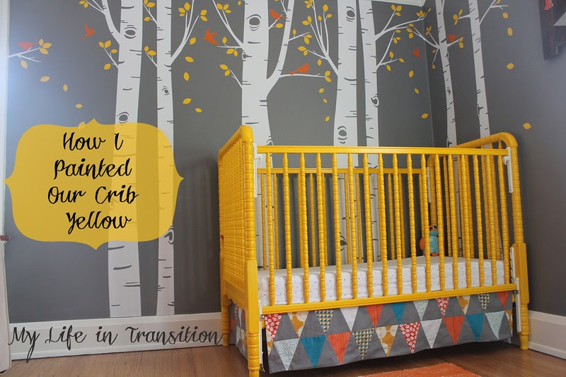 My Life In Transition Baby Boy Nursery How I Repainted