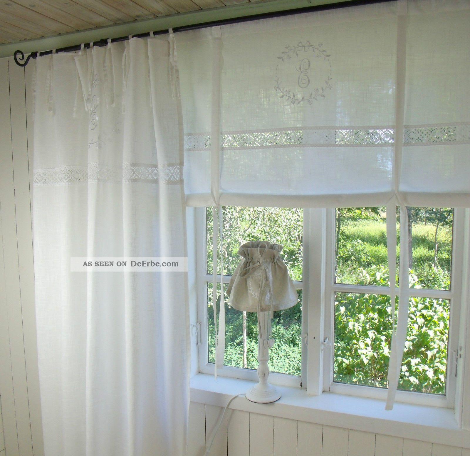 gardinen wohnzimmer shabby