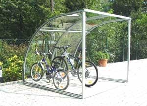 Gazebo per biciclette