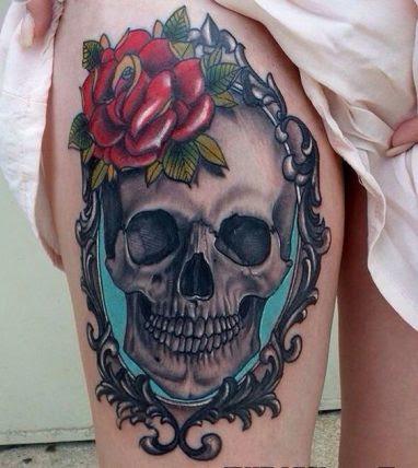 30 Tatuajes De Calaveras Para Inspirarte Catrinas10