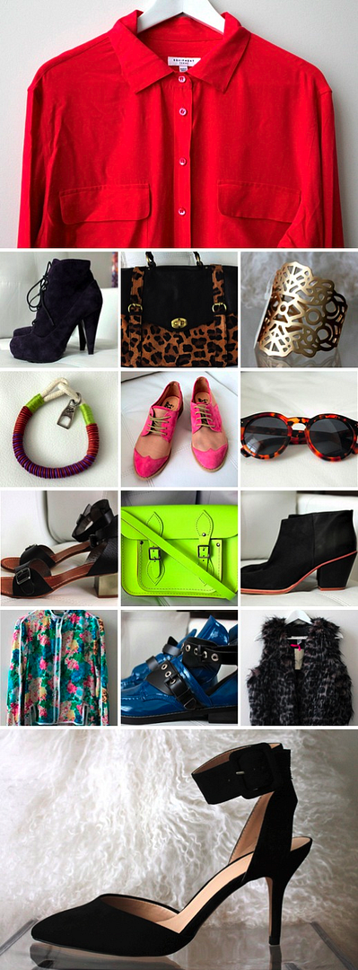 COPIOUS LE FASHION BLOG CLOTHES SHOES ACCESSORIES FOR SALE IILESTEVA LEONARD 11 SUNGLASSES TWO TONE PINK OXFORDS RACHEL COMEY MARS BOOTS FAUX FUR VEST 31 RED EQUIPMENT SILK SHIRT FOREVER 21 GOLD CUT OUT CUFF NEON BAG PROENZA ROPE BRACELET BALENCIAGA CUT OUT BOOTS PURPLE LACE UP PROENZA BOOTS ZARA ANKLE STRAP SHORT HEELS BLACK