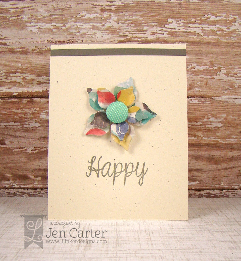 Jen Carter Happy Spring Flowers