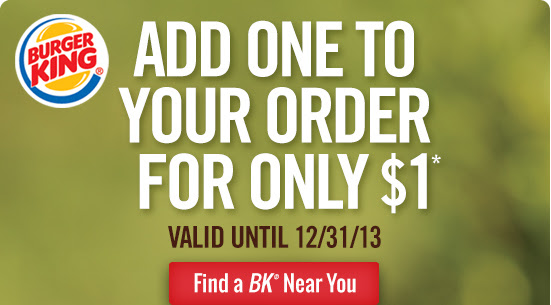 Add one to your order for only $1