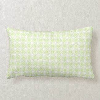 Pistachio Polka Dot Pattern throwpillow