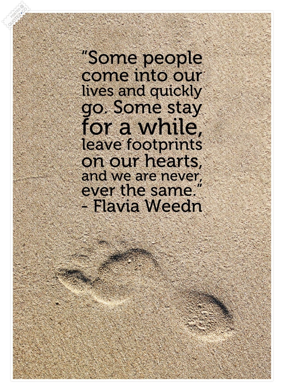 Footprints Quotes Sayings Quotezco
