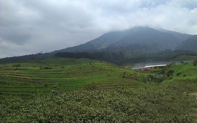 The beautiful surrounds of Gunung Kawi near Malang, Indonesia