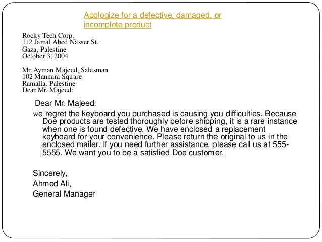 44 APOLOGY LETTER FOR LATE PAYMENT TO EMPLOYEES, PAYMENT