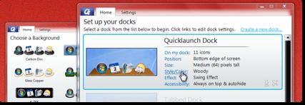 Nueva interfaz de usuario, configurar el escritorio en un instante