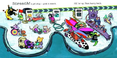 Mini Racer- monkey out